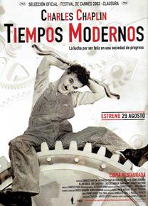 Tiempos Modernos 1936 De Charles Chaplin Modern Times
